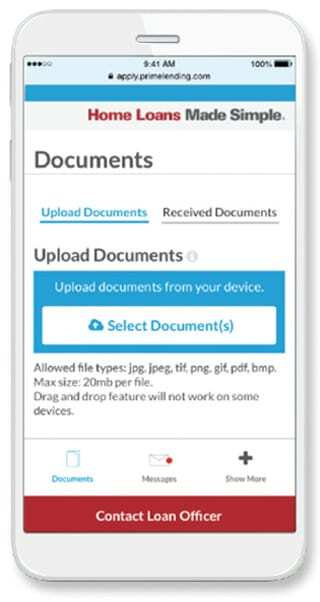 Upload Documents, Take Photos, Link Accounts